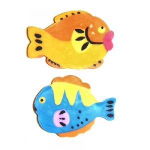16 x Tropical Fish Novelty Erasers Rubbers (Sets of 2) Wholesale Bulk Buy